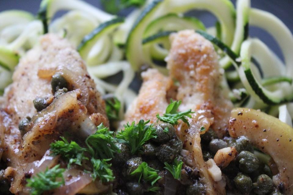 Whole30 Chicken Piccata