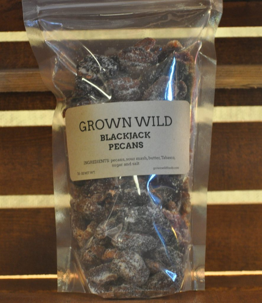 black jack pecans, grown wild foods, barrel aged creations, gift guide, food gift, gourmet, foodie, pecans, seasonal