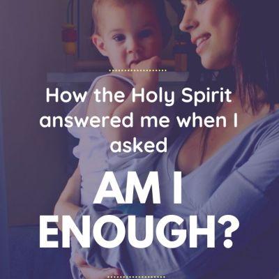 """Am I Enough?"""