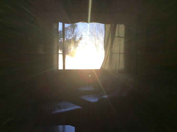 morning sun chair