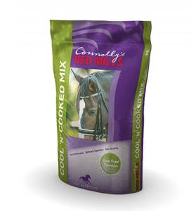 Bag of Cool n cooked mix horse feed