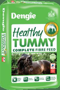 Bag of Dengie healthy tummy horse feed