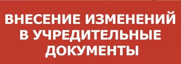Внесение изменений в устав некоммерческой организации (НКО)