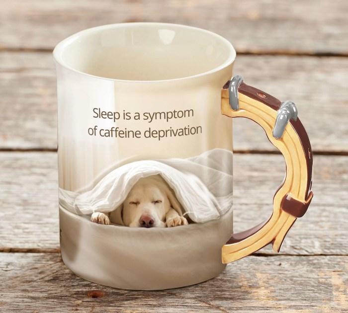 Barrier Bay Resort Gift Mug - Dog