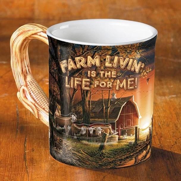 Barrier Bay Resort Collector Mug - Farm Livin