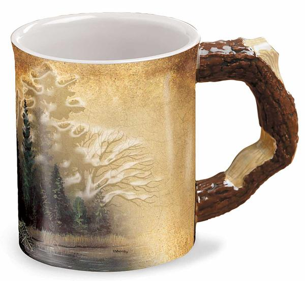 Barrier Bay Resort Collector Mug - Misty Forest