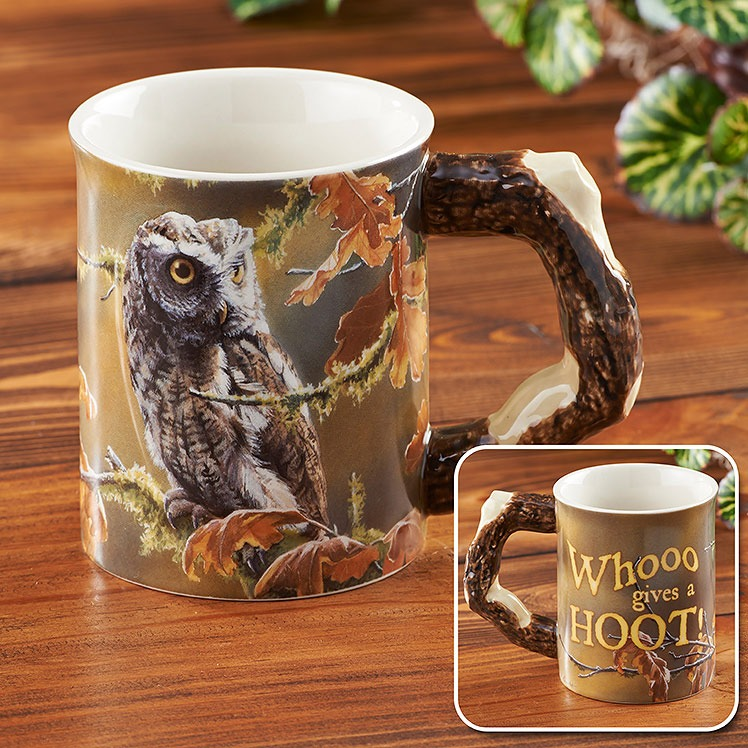Barrier Bay Resort - Owl Mug