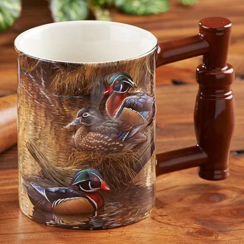 Barier Bay Resort Gift Mug - Wood Duck