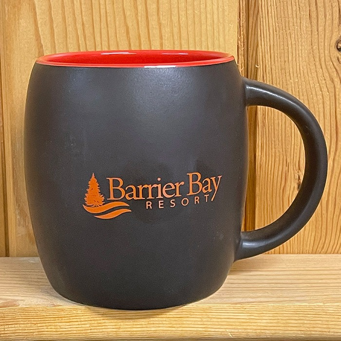 Barrier Bay Resort Red Mug