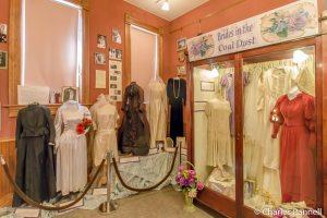Brides in the Coal Dust exhibit