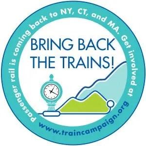 Barrington Institute Train Campaign 2014 Button