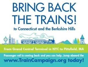Barrington Institute Train Campaign 2014 Postcard