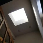 Skylight remodeling installation project