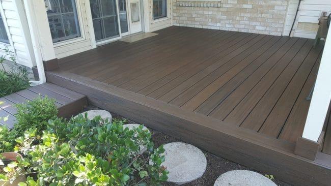 Deck installation in Fort Worth, TX