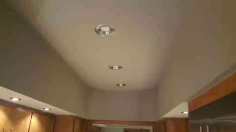 LED lighting ceiling remodel