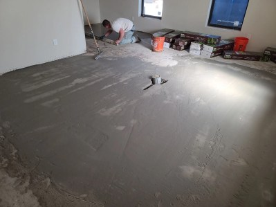 Floating for wood flooring