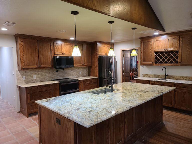 Custom designed kitchen remodel