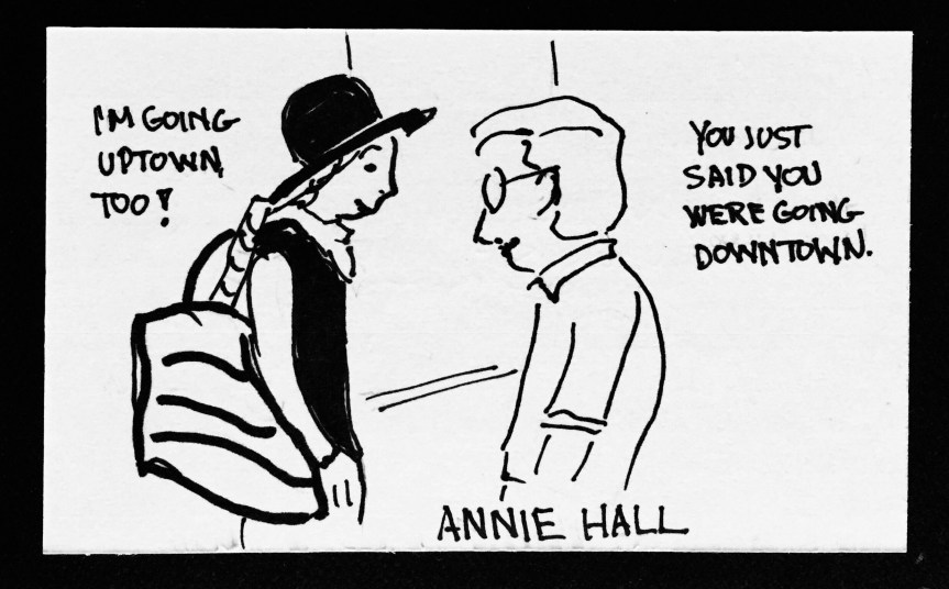Annie Hall framed