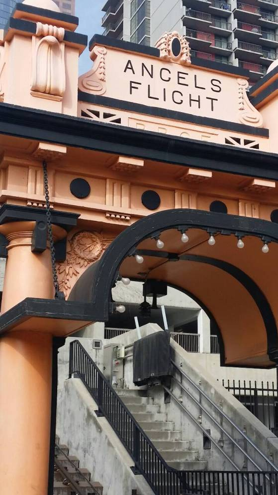 Angels Flight in DTLA