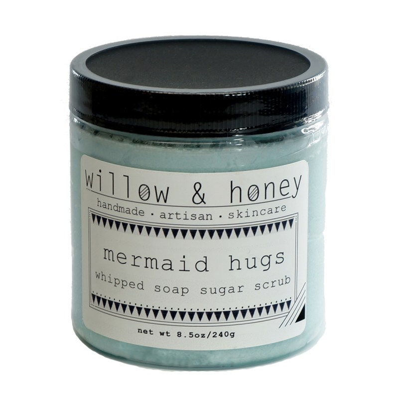 mermaid scrub by Willow & Honey