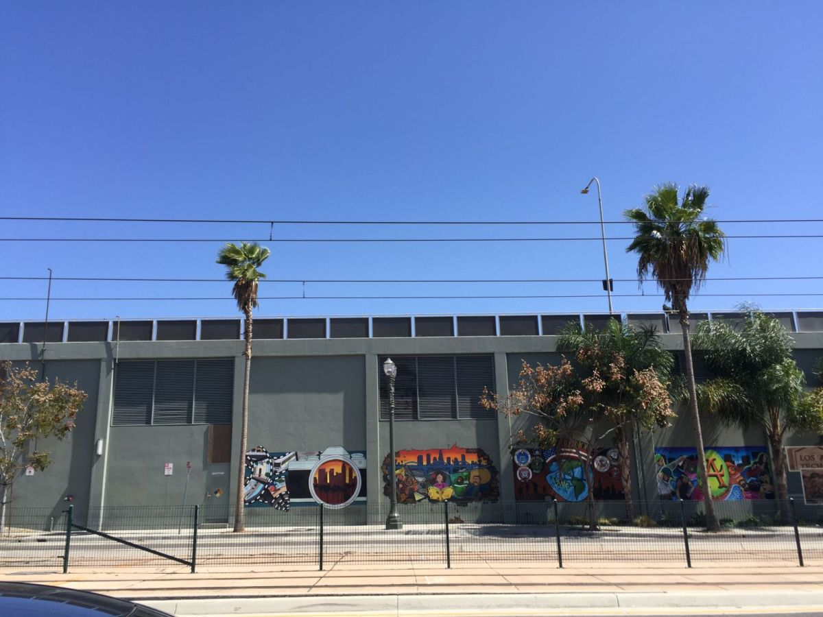 LA Trade Tech Street Art
