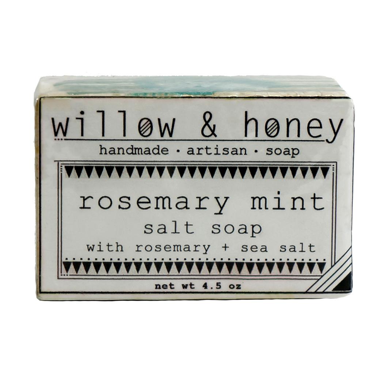 Willow & Honey Rosemary Mint Salt Soap