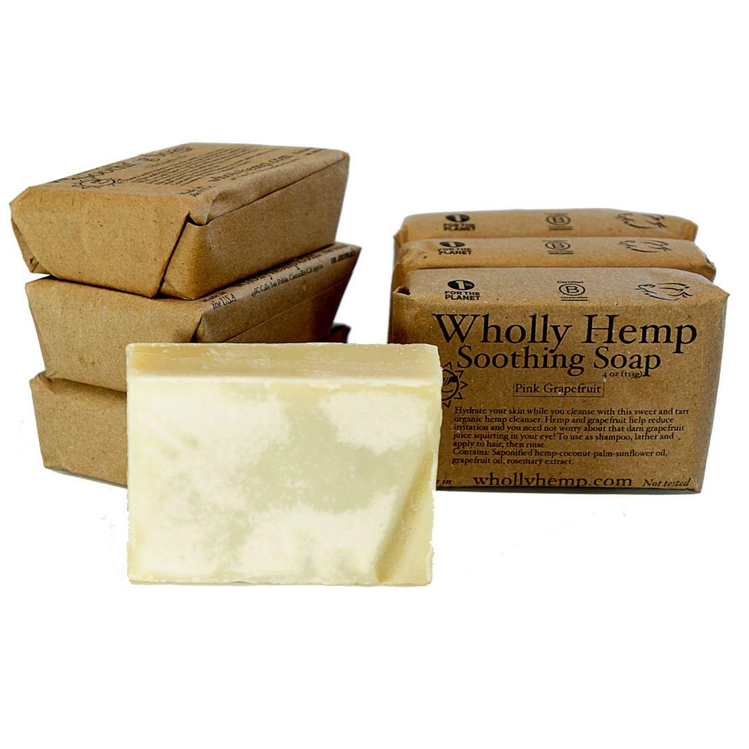 soothing hemp soap