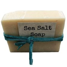Sea salt soap from Down to Earth Natural Soap