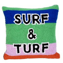 Surf & Turf throw Pillows from Sisters of Los Angeles