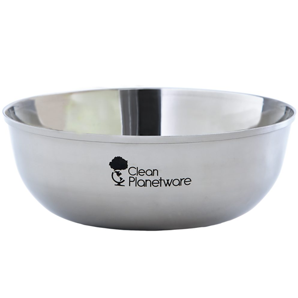 stainless steel bowls from Clean Planetware