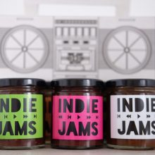 Indie Jams seasonal small batch jams