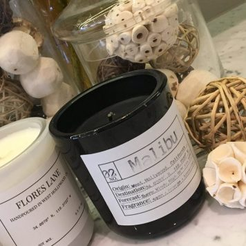 Malibu soy candle by Flores Lane
