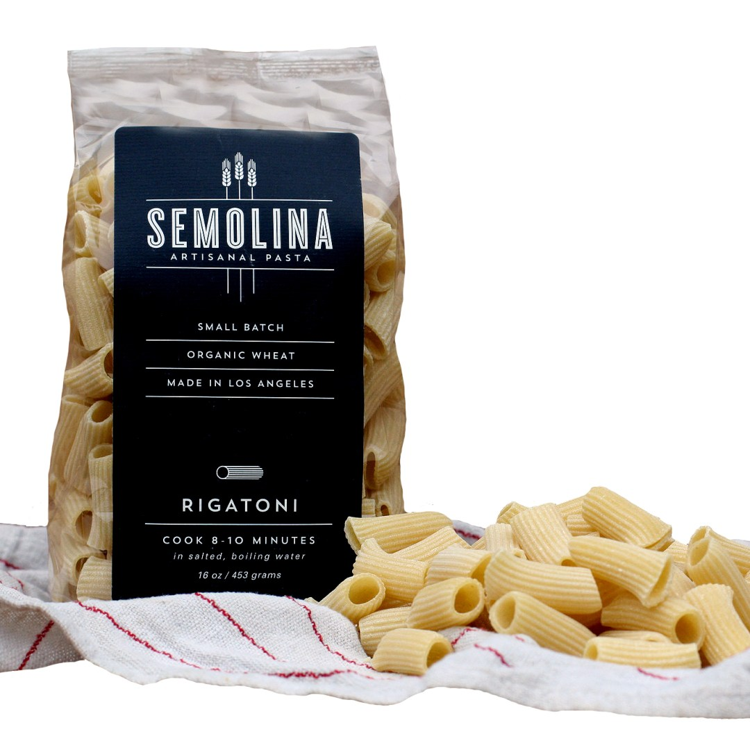 organic small batch pasta