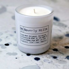 beverly hills soy candle