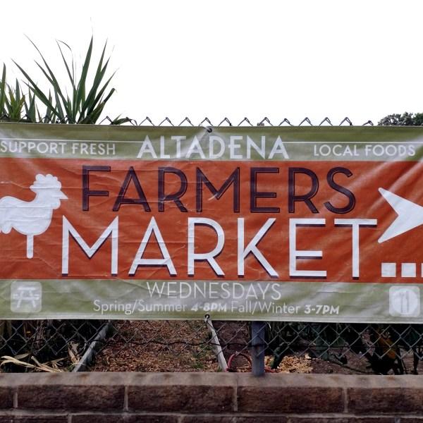 altadena farmers market