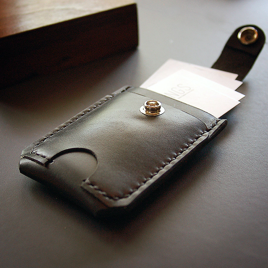slim wallet by Smiths & Kings
