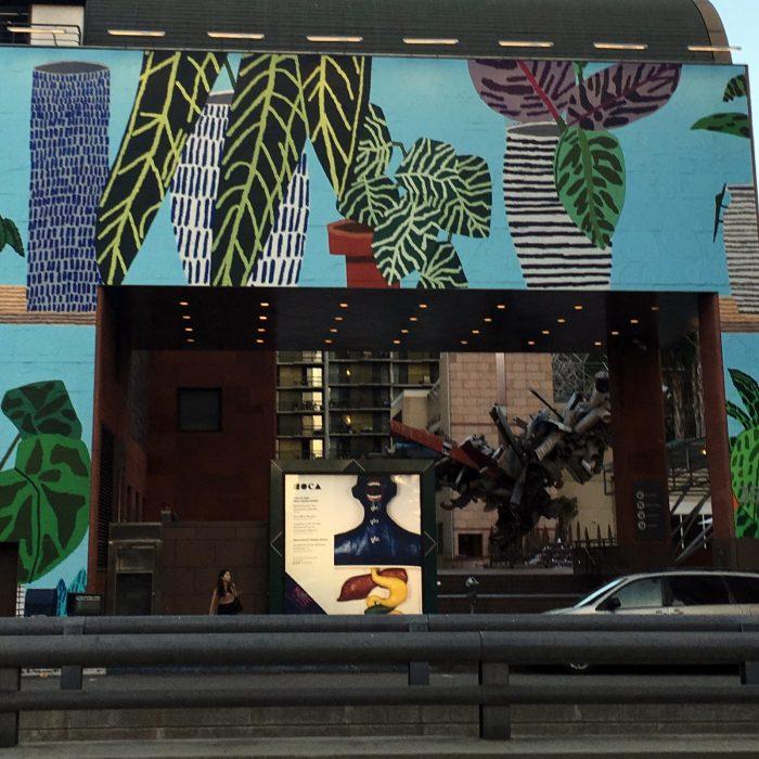 Murals at MOCA