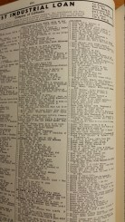 Elimelech and Chaya Solomon, 1942 City Directory