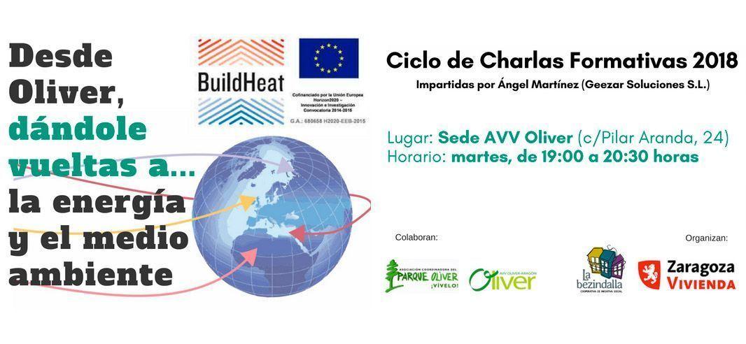 Ciclo de charlas «Desde Oliver, dándole vueltas a… la Energía y el Medio Ambiente»