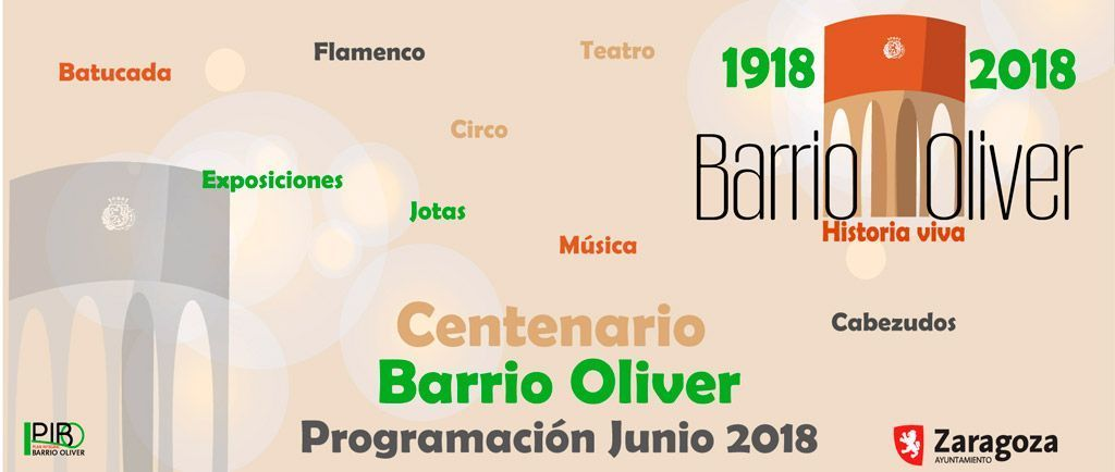 Centenario Oliver Actividades junio 2018