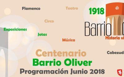 Programa de actividades para celebrar el Centenario de Oliver