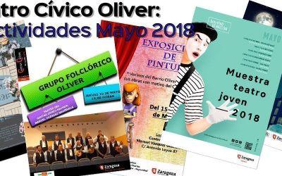 Centro Cívico Oliver: Actividades de Mayo