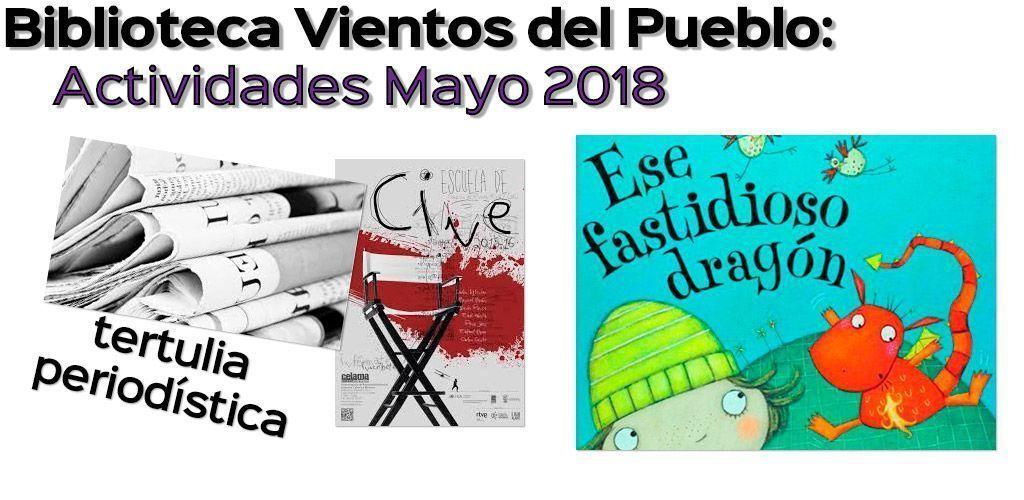 Biblioteca Vientos del Pueblo – Actividades de junio 2018
