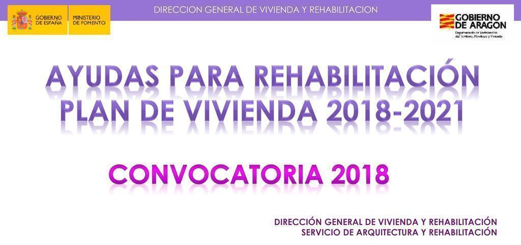 Ayudas a la rehabilitación de viviendas de DGA