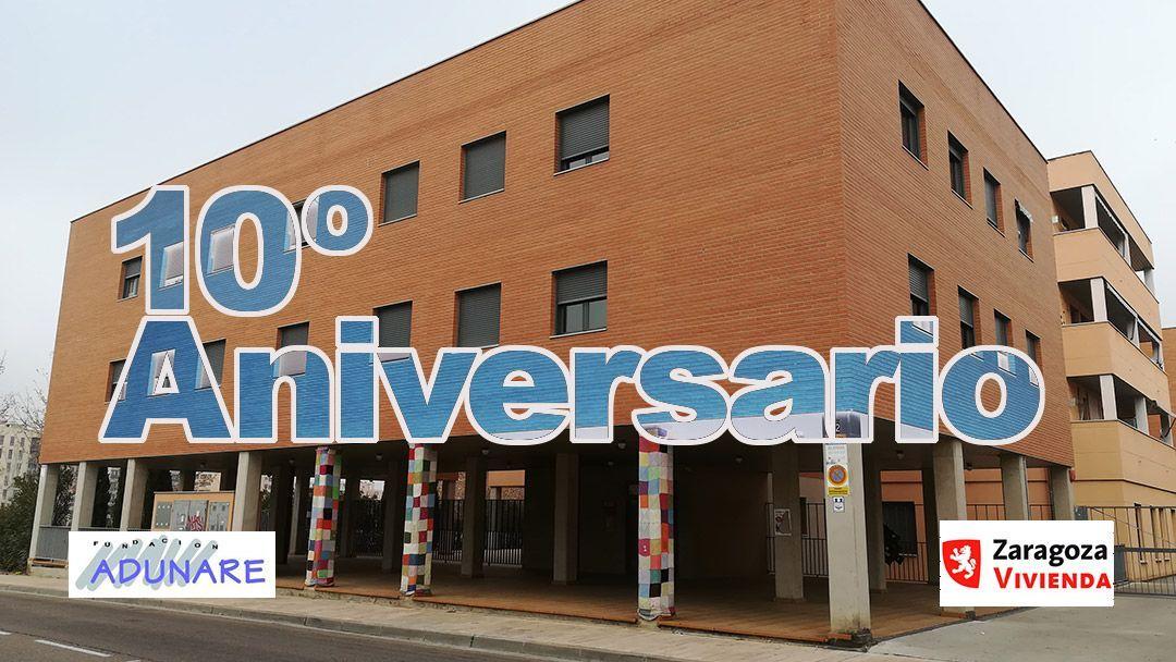 Décimo aniversario del Edificio del Centro Comunitario