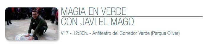 Ecozine 2019 en Oliver - Javi el Mago