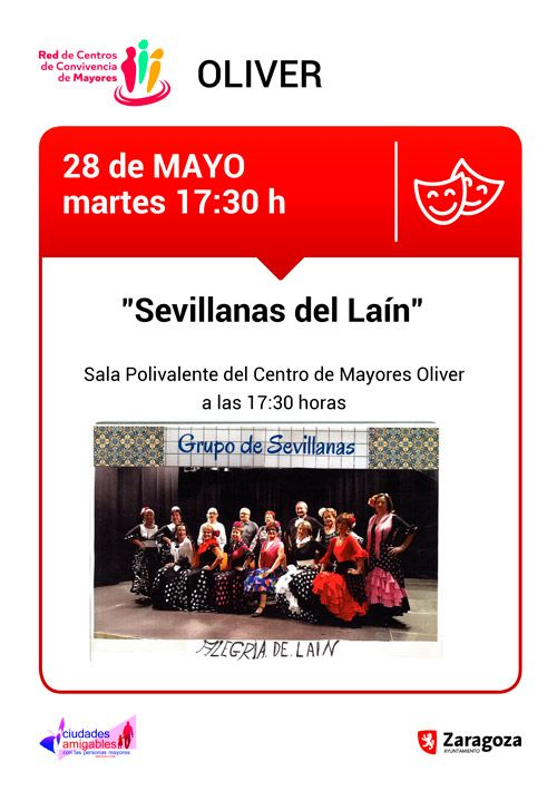 Centro de Mayores Oliver: Actividades mayo 2019