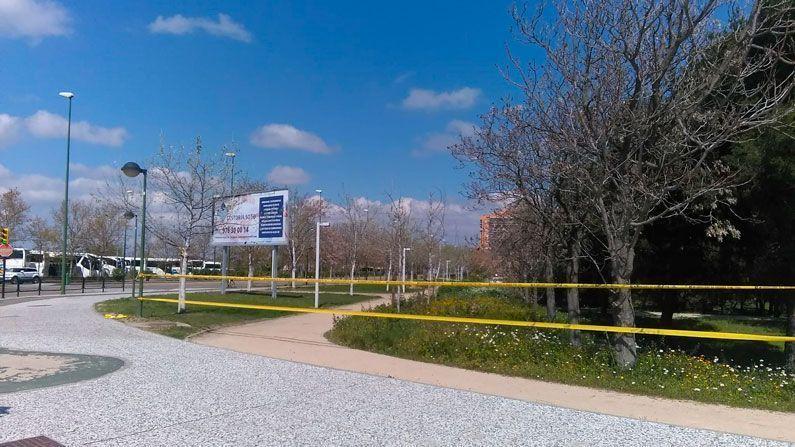 Parque Oliver cerrado Coronavirus