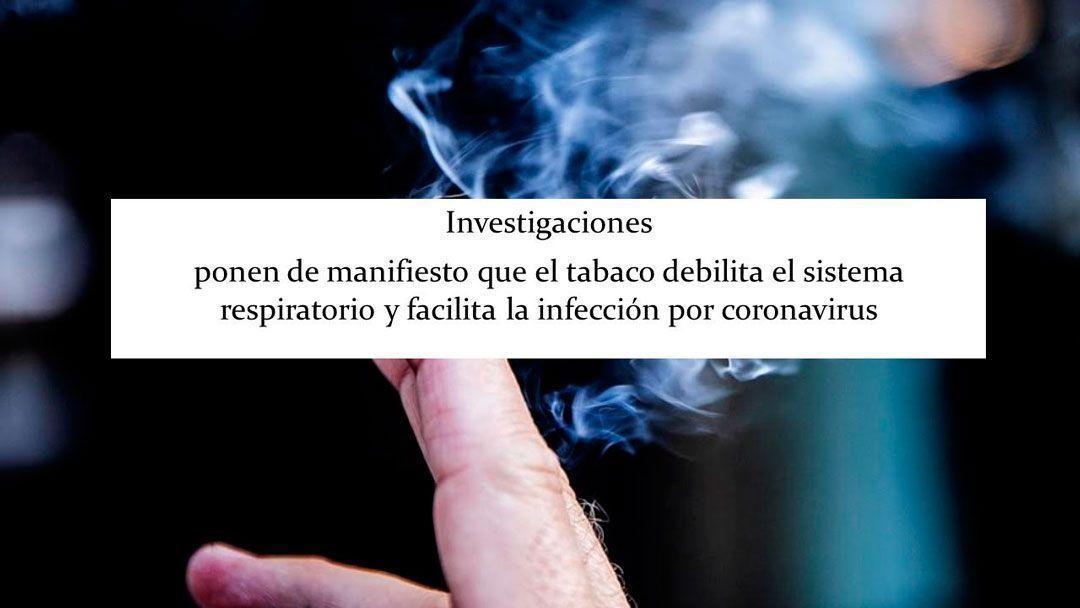El tabaco en tiempos del coronavirus