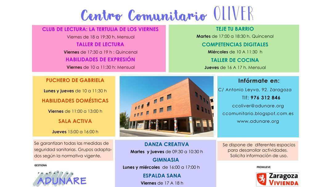 Centro Comunitario Enero 2021